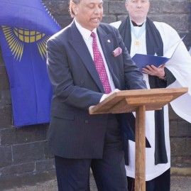 Commonwealth Day 14 March 2016, at Cardiff Castle. Raj Aggarwal, President of CAW, read a message on 'an inclusive Commonwealth' from the Commonwealth Secretary General to celebrate Commonwealth Day 2016. Fly the Flag Ceremony for Commonwealth was held at Cardiff Castle.