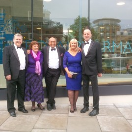 Royal Pharmaceutical Society Fellows Dinner at RPS Headquarters, London.