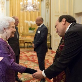UK -India Year Of Culture launch reception at Buckingham Palace - Monday 27th February 2017